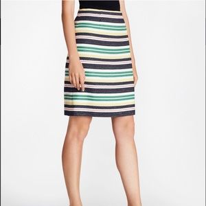 Brooks Brothers Striped Skirt